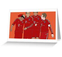 Bayern Munchen Boys Greeting Card