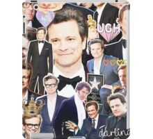 colin firth collage iPad Case/Skin