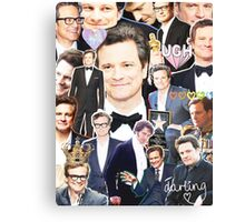 colin firth collage Canvas Print