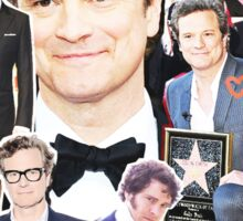 colin firth collage Sticker