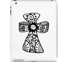 "Hipster Letter ""T"" Zentangle iPad Case/Skin"