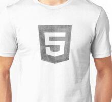 HTML5 Grunge Unisex T-Shirt