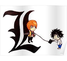 Chibi Death Note Poster