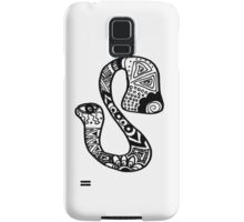 "Hipster Letter ""S"" Zentangle Samsung Galaxy Case/Skin"