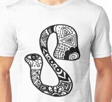 """Hipster Letter """"S"""" Zentangle Unisex T-Shirt"""