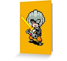 The Masked Man - Mother 3 Greeting Card