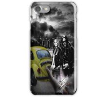 Once upon a time swanqueen iPhone Case/Skin