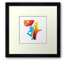 Basketball World Cup 2014 big logo Framed Print