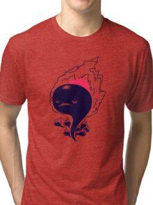 Flaming Squiggles Tri-blend T-Shirt