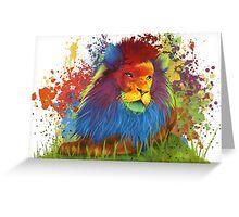 Lion I Greeting Card