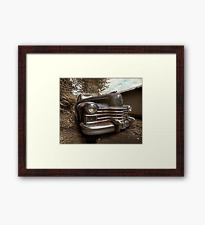 Abandoned 1948 Cadillac Limo Framed Print