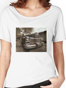 Abandoned 1948 Cadillac Limo Women's Relaxed Fit T-Shirt