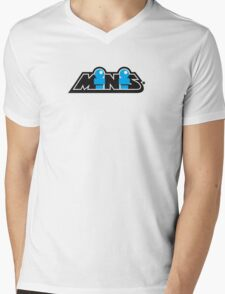 Minis Branding Mens V-Neck T-Shirt