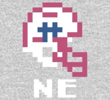 Tecmo Bowl New England Football 8-Bit NES Nintendo Pixel T Shirt Kids Tee