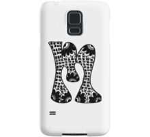 "Hipster Letter ""M"" Zentangle Samsung Galaxy Case/Skin"