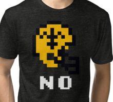 Tecmo Bowl New Orleans Football 8-Bit NES Nintendo Pixel T Shirt Tri-blend T-Shirt