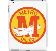 Metro Oil Company Vintage Tshirt iPad Case/Skin