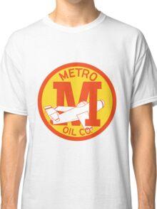 Metro Oil Company Vintage Tshirt Classic T-Shirt