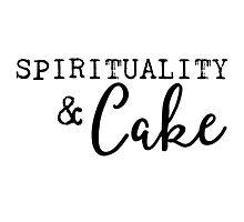 Spirituality and Cake Photographic Print