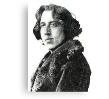 Oscar Wilde - Irish Author Canvas Print