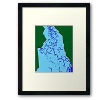 Flood Plain Framed Print