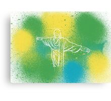 Colours of Brazil Canvas Print