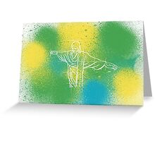 Colours of Brazil Greeting Card