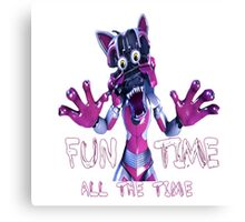 Funtime 3 Canvas Print