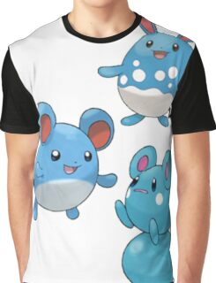 Marill Evolutions Graphic T-Shirt