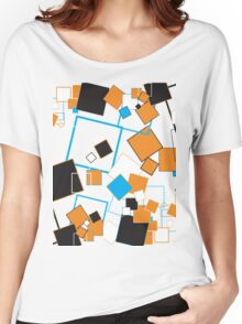Lines of Squares Women's Relaxed Fit T-Shirt
