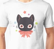 Pink Bow Kitty Unisex T-Shirt