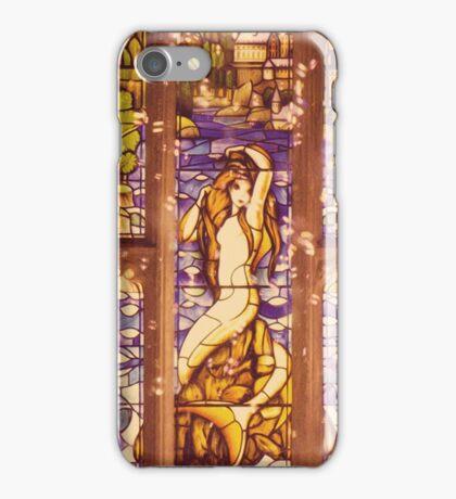 Mermaid Stain Glass Window iPhone Case/Skin