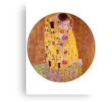 The Kiss - Gustav Klimt - Normal Canvas Print