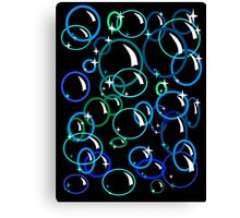 Wall of Bubbles Canvas Print