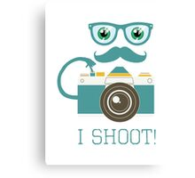 I SHOOT PHOTOGRAPHER Canvas Print