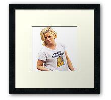 Leslie Knope - I Hate Mondays Framed Print