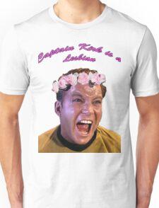 Kirk is a Lesbian Unisex T-Shirt