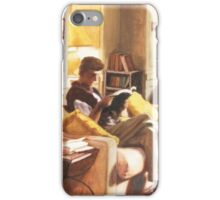 Living Room of the Roberts iPhone Case/Skin