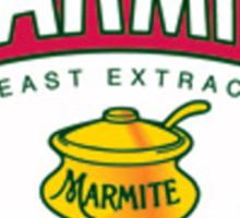 Marmite colour Sticker