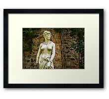 Old Statue Framed Print
