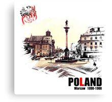 Poland - Polska Warsaw Warszawa Canvas Print