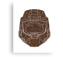 Red Vs Blue Lopez Outline Canvas Print