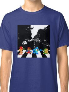Nintendo Sprites on Abbey Road Classic T-Shirt