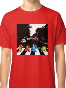 Nintendo Sprites on Abbey Road Classic T-Shirt