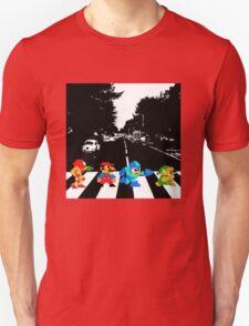 Nintendo Sprites on Abbey Road Unisex T-Shirt