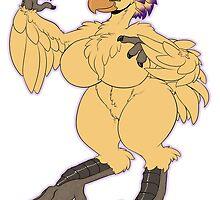 Fantasy Bird Gal by farorenightclaw