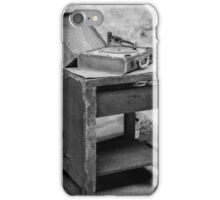 Dyson Factory - Record Player iPhone Case/Skin