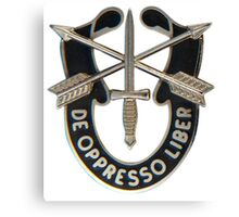 Special Forces insignia Canvas Print