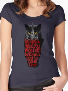 Behemoth the Cat (Master and Margarita) Women's Fitted Scoop T-Shirt