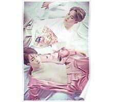 Suga x Jimin BTS Wings Poster